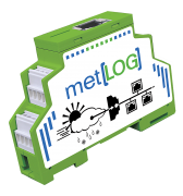 met[LOG] with met[APP] · Data logger