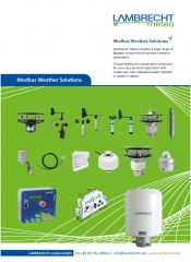 Modbus Weather Solutions · for every need