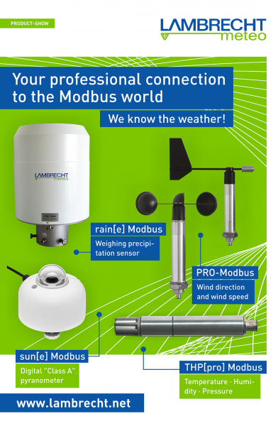 Modbus System Components · for every need