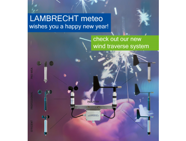 Happy new year with wind traverse system